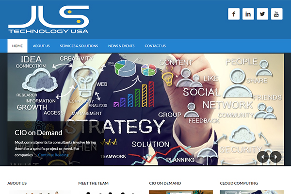 Business Website Design – JLS Technology