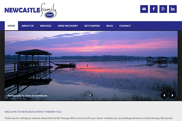 Charlotte Website Design - Newcastle Family Therapy