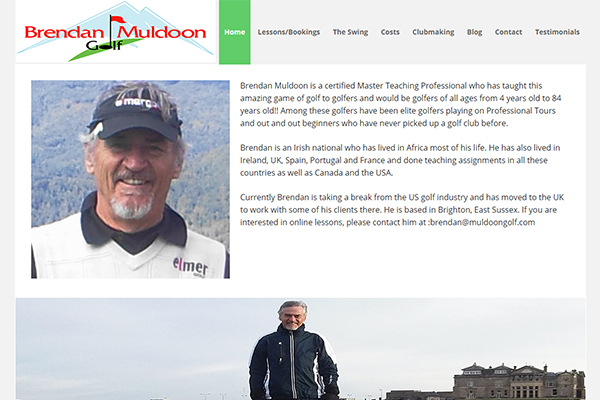 Raleigh Website Design - Muldoon Golf